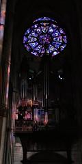 5 - Reims - Cathédrale Notre-Dame - Orgue (melina1965) Tags: reims marne grandest octobre october 2017 nikon d80 vitrail vitraux stainedglasswindow stainedglasswindows église églises church churches orgue orgues organ organs