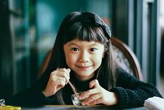 Sweet. (MichelleSimonJadaJana) Tags: 35mm film color hexar rf hexarrf leica summiluxm 50mm f14 asph mmount m documentary lifestyle snaps photography konica af silver compact autofocus childhood child hongkong 香港 analog jada jana