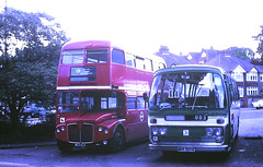 Slide 107-26 (Steve Guess) Tags: dorking surrey england gb uk bus lcbs country london 502clt rmc aec routemaster reliance rn plaxton barton mrr804k rn4 garage ds