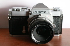 Nikomat FT (dcsides) Tags: nikomat nikkormat ft nikon chrome