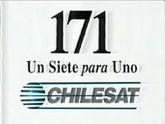 Comercial Chilesat (Octubre 1995) (hernánpatriciovegaberardi (1)) Tags: comercial chilesat claro chile 1995 octubre un siete para uno 171