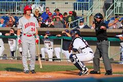 Strike Three (320-ROC) Tags: nickbanks auburndoubledays baseball ballpark minorleaguebaseball