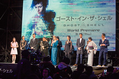 Ghost In The Shell World Premiere Red Carpet: Yamamoto Kaori, Rila Fukushima, Pilou Asbæk, Kitano Takeshi, Scarlett Johansson, Juliette Binoche, Rupert Sanders, Momoi Kaori & Izumihara Yutaka