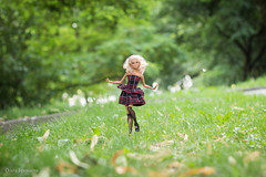 Lea (olgabrezhneva) Tags: doll dream портрет portrait barbie yoga made move madetomove barbiedoll mattel people outdoor summer hande handemade clothes lea