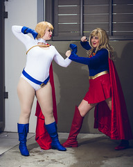 SP_66687-4 (Patcave) Tags: friday dragon con dragoncon 2017 dragoncon2017 cosplay cosplayer cosplayers costume costumers costumes shot comics comic book scifi fantasy movie film supergirl powergirl group shoot dc