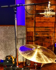 Simply Smashing (Pennan_Brae) Tags: recordingsession recordingstudio recording musicstudio musicphotography musicproduction musicproducer music mic microphone drum percussion cymbal yvrmusic vancity drums cymbals