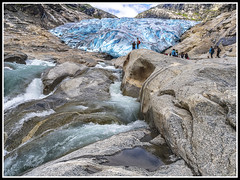 Paseando por Noruega: Glaciar Nigardsbreen (edomingo) Tags: edomingo olympusomdem10 mzuiko14150 noruega nigardsbreen hielo glaciar