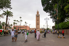 Koutoubia Mosque (joscelyn_p) Tags: koutoubia koutoubiamosque mosque marrakech morocco canon lightroom architecture travel traveler traveling photography