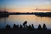 The sky cinema (Javi Sánchez Photography) Tags: sunset asturias gijon sea city spain silhouettes water colors beauty people north sky