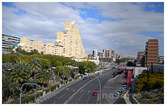 Avenida de Denia (Correuret) Tags: alicante alacant arquitectura architecture avenida spain spagna españa espagne palmera cielo urbanismo ciudad capital metrópoli