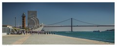 "Belem seafront, ""Padrão dos Descobrimentos"", Lisbon. (Richard Murrin Art) Tags: portugalbelemseafront padrãodosdescobrimentos lisbon richard murrin art photography canon 5d landscape travel images building cool"