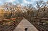 Cortana - Buffalo River State Park (Tony Webster) Tags: buffaloriver buffaloriverstatepark cortana minnesota autumn bridge dog statepark glyndon unitedstates us
