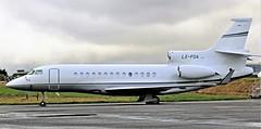 LX-FDA DASSAULT FALCON 7X NEWCASTLE (toowoomba surfer) Tags: bizjet businessjet executiveaviation jet aeroplane aviation aircraft ncl egnt