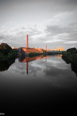 Mills in the Morning (MikeWeinhold) Tags: lowell massachusetts textile mills 6d 1740mm merrimackriver