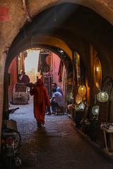 Into the  souk (Hector16) Tags: africa october morocco lavilladesorangers unescoworldheritagesite المَغرِب northafrica مراكش berber marrakech kingdomofmorocco marrakesh marrakeshtensiftelhaouz ma
