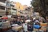Delhi, Chandni Chowk (Sergio Capuzzimati) Tags: delhi chandni chowk india new old crowded busy street rickshaw asia market bazaar