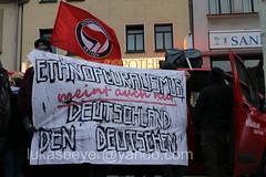 Halle(9) (lukas_beyer) Tags: kontrakultur halle saale identitäre bewegung sachsenanhalt ib haus ibhaus antifa antira feminismus protest polizei demonstration demo hal2810 kick them out kickthemout nazizentrum dichtmachen