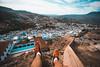 On the top (Leo Hidalgo (@yompyz)) Tags: chefchauen marruecos المغرب almaġrib morocco blue village street landscape