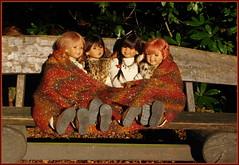 Guten Abend, gute Nacht ... (Kindergartenkinder) Tags: kindergartenkinder annette himstedt dolls tivi setina kindra sanrike