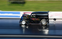 National Finals_6539 (Fast an' Bulbous) Tags: racecar drag strip race car vehicle automobile track motorsport santapod outdoor nikon d7100 gimp uk september autumn sunny fast speed power panning
