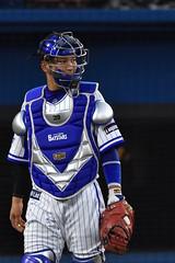 #39 嶺井博希 / 横浜DeNAベイスターズ (bxsekkiexb) Tags: baseball baystars 横浜denaベイスターズ 嶺井博希