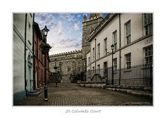 St Columbs Court (Oul Gundog) Tags: church cathedral st columb saints northern irland ulster reformation protestant londonderry london siege 1689 1690 king william orange apprentice boys derry