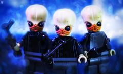 Bith Band (Jezbags) Tags: lego legos toy toys macro macrophotography macrodreams macrolego canon60d canon 60d 100mm closeup upclose starwars bith band musician instrument bokeh blue phantom menace