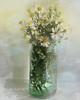 Michelmas Daisies (Jean Turner Cain) Tags: flower flora floral flowers fleur flor daisy bloem blomst photoshop jeanturnercain