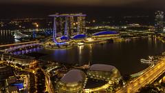 Marina Bay (Juergen Huettel Photography) Tags: singapore night marina bay singapur city