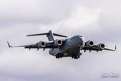 Boeing C-17 Globemaster III (wells117) Tags: 2017 315thaw 437thaw 7181 amc c17 c17globemasteriii charleston globemasteriii sigma150600mm unitedstatesairforce aircraft clivewells jet jetaircraft lakenheath landing military oct oct2017 raflakenheath sigma suffolk undercarrage usaf wheels77181
