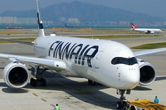 Finnair Airbus A350-941 OH-LWH (Manuel Negrerie) Tags: finnair airbus a350941 ohlwh hkg airport design xwb a350xwb spotting sightseeing china tarmac canon jetliners airliners planes aviation avion hk fi finland airlines