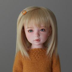 Iplehouse BID Linda (1930sgirl) Tags: iplehouse bid bjd linda peach gold yosd dollshe