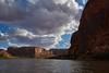 Sul fiume Colorado (paolo-p) Tags: canyonland usa colorado nuvole clouds acqua water