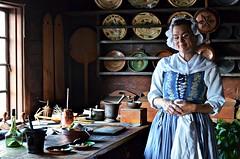 Kitchen of a Swedish manor house of the 18th century. (Aránzazu Vel) Tags: vintagedress cocina cucina antiques old kitchen stockholm skansen manorhouse museum estocolmo stoccolma sweden suecia sverige svezia