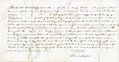 Acknowledgement of Deeds by Commissioners of the Common Pleas of Jane Robson wife of Anthony Dent Robson, Westmorland, 1839. 2 (North West Kent Family History Society) Tags: acknowledgementofdeeds commissionersofthecommonpleas ecbdcollection cordwainer 1841 kirkbythore westmorland born circa1781 morland johnheelistheyounger frederickwymess appleby georgeatkinson