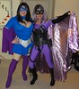 Prodigious Girl and Lavender Scare (rgaines) Tags: costume cosplay crossplay drag prodigiousgirl lavenderscare highheelrace halloween