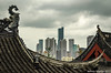 (Dubai Jeffrey) Tags: china eastwest eaves gujimingtemple jiangsu nanjing oldnew skyline