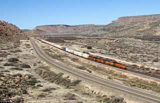BNSF 6275 Valentine, Arizona
