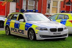 Merseyside Police BMW 530d Touring Driver Training Vehicle (PFB-999) Tags: merseyside police bmw 530d 5series touring estate driver training vehicle car unit dt grilles fendoffs leds pe13mjk anfield liverpool