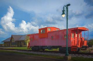 Llano Train Station