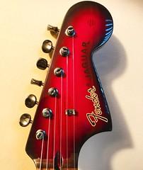 Headstock Heaven (Pennan_Brae) Tags: fenderguitars fenderguitar offsetguitar offset shortscale musicphotography music madeinjapan electricguitar guitar headstock fenderjaguar fender
