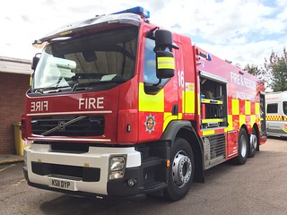 Bedfordshire Fire & Rescue Kempston Water Carrier