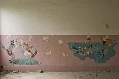 _MG_6680 (daniel.p.dezso) Tags: kiskunmajsa laktanya orosz kiskunmajsai majsai former soviet barrack elhagyatott urbex abandon ruin building drawing abandoned military base militarybase