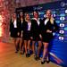 Hostese na žrebu skupin prihajajočega UEFA Futsal EURO 2018.