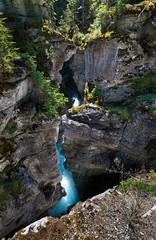 Maligne Gorge, Jasper National Park, Canada (Matt Straite Photography) Tags: water river canyon gorge canada jasper nationalpark national mapple color outdoor landscape blue