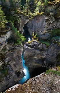 Maligne Gorge, Jasper National Park, Canada