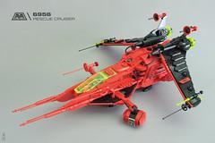 Neo 6956 M-Tron Rescue Star Cruiser (hhcBrick) Tags: lego space spaceship mtron magnets rescue