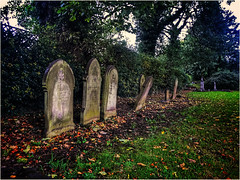 Out of line (andystones64) Tags: gravestones graveyard graves cemetery churchyard daylight grass headstones holy history image imageof imagecapture outdoors religion scunthorpe trees