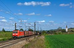 DB 185 096 (maurizio messa) Tags: badenwürttemberg cargo bombardier traxx br185 germania germany guterzuge mau bahn ferrovia freighttrain fret treni trains railway railroad nikond7100