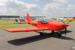 G-CIRY (ANDY'S UK TRANSPORT PAGE) Tags: planes northweald ev97eurostar